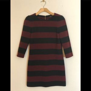 Zara striped dress. Size XS.